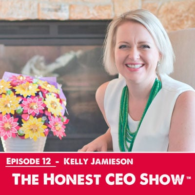 Kelly Jamieson from Edible Blooms on the Honest CEO Show