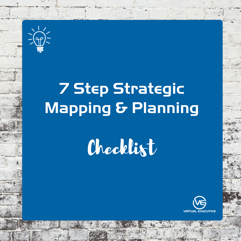 7 Step Strategic Mapping & Planning Checklist