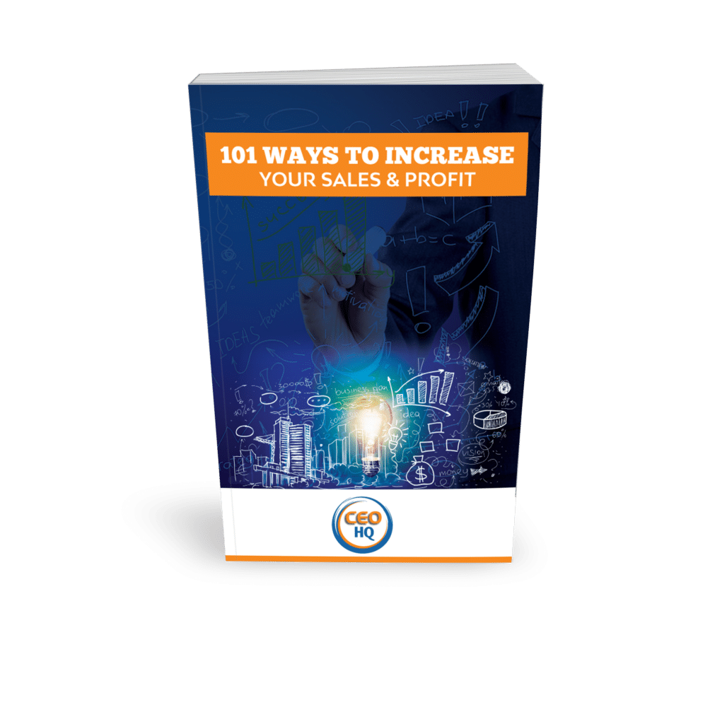 101 Ways to Increase Your Sales and Profit